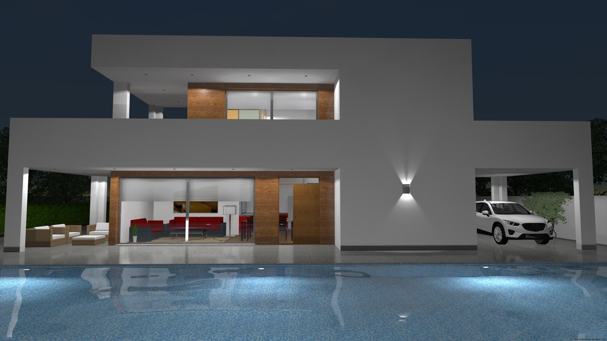 Casa de dise o moderno for Casas diseno rustico moderno